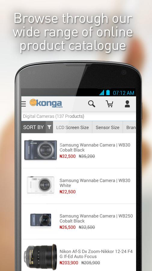 Konga - screenshot