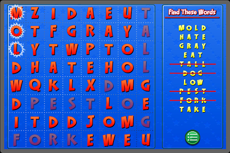Word Search for Kids 2- screenshot thumbnail