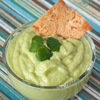 Green Stuff (Cucumber Guacamole)
