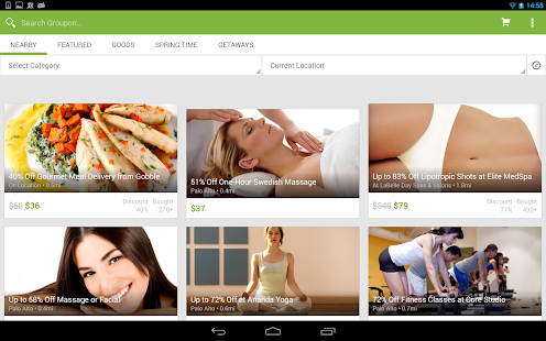 Groupon - screenshot thumbnail