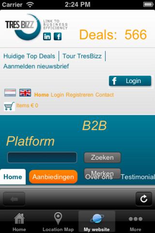 【免費商業App】TresBizz BV-APP點子