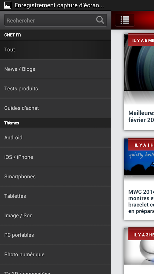 CNET France- screenshot