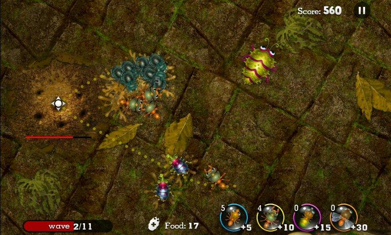 Anthill- screenshot