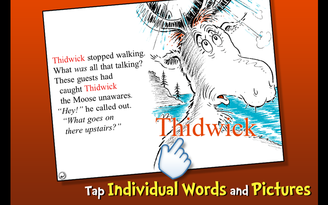 Thidwick - Dr. Seuss- screenshot