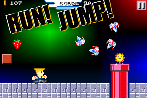 Super Mega Runners:Stage maker Create your game  screenshots 3