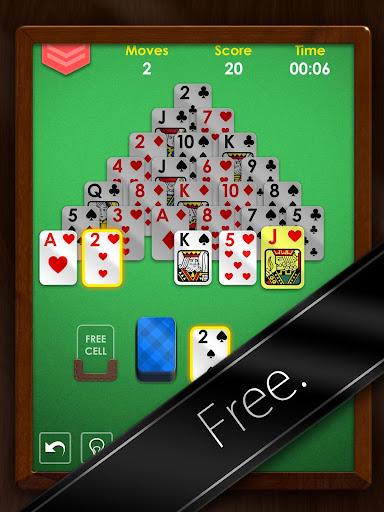 Pyramid Solitaire Premium - Free Card Game Apk Download 10