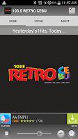 Screenshot of 103.5 RETRO CEBU