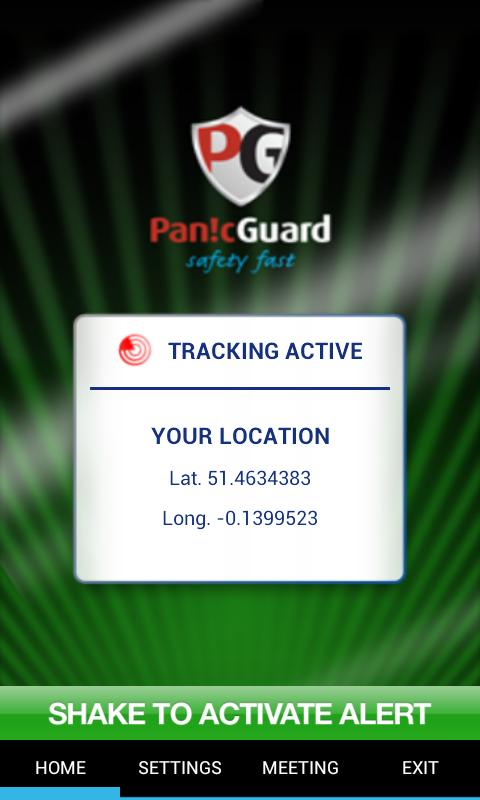 PanicGuard - screenshot