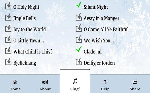 Sing Free Christmas Carols