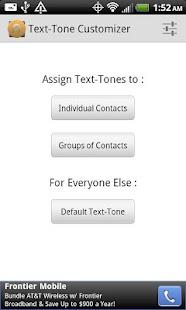 Text-Tone Customizer
