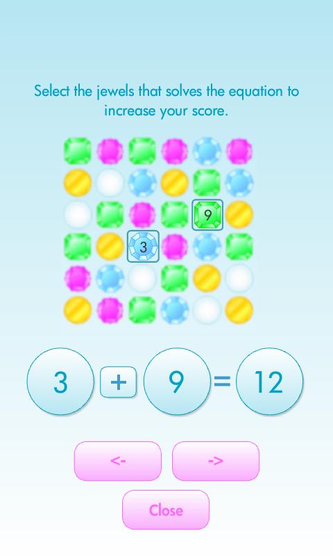 NumFun - Math Gems - screenshot