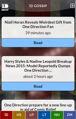 One Direction Gossip - screenshot