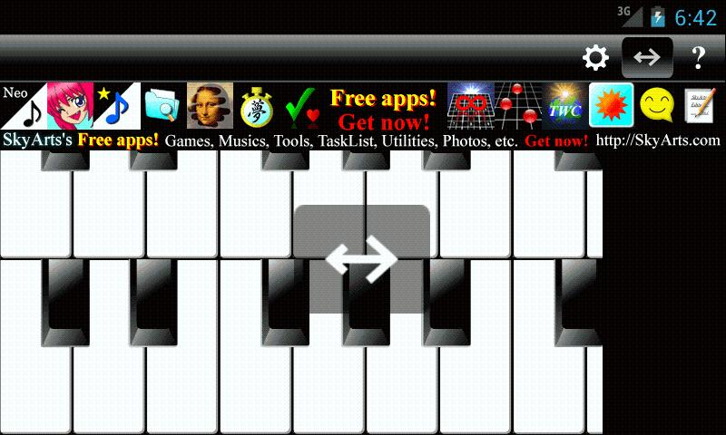 PianoTones Lite- screenshot