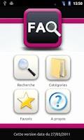 Screenshot of FAQ SNC