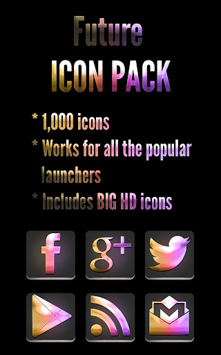 Future Neon - Icon Pack