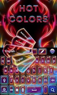 Hot-Colors-GO-Keyboard-Theme 3