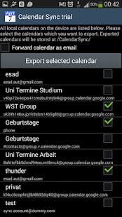 CalendarSync - CalDAV and more - screenshot thumbnail