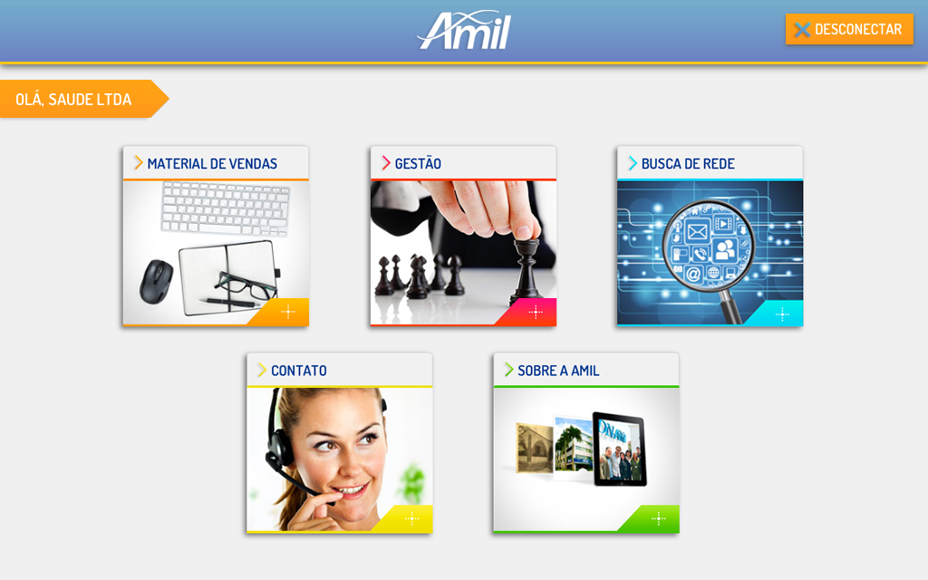 Amil Corretores- screenshot