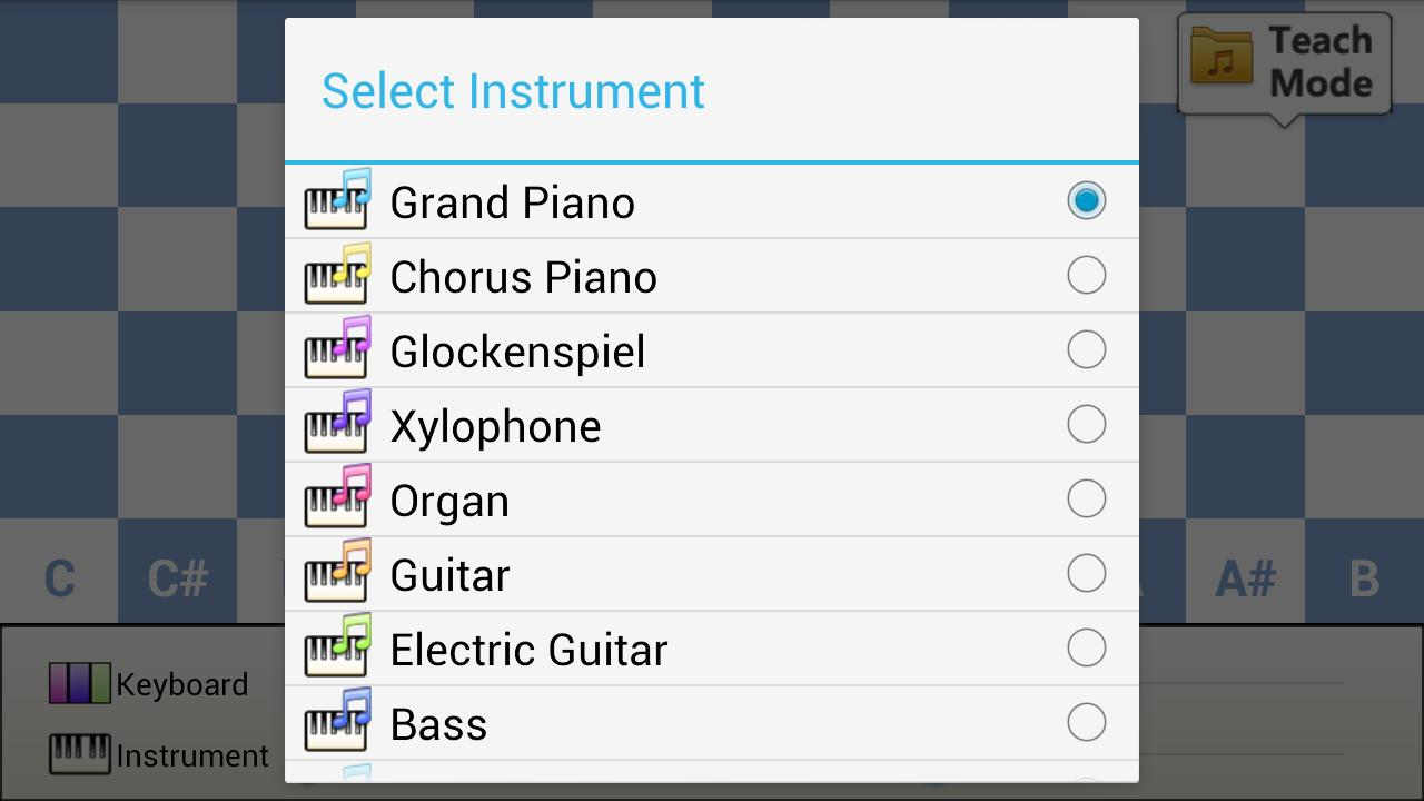 Super Piano (72 Key) - screenshot