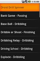 Screenshot of Soccer Practice Drills - U6