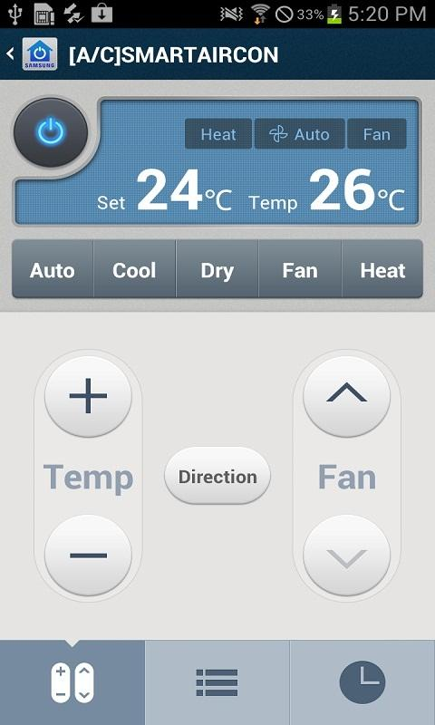 Smart Home Control - screenshot