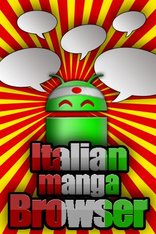 Italian Manga Browser - screenshot