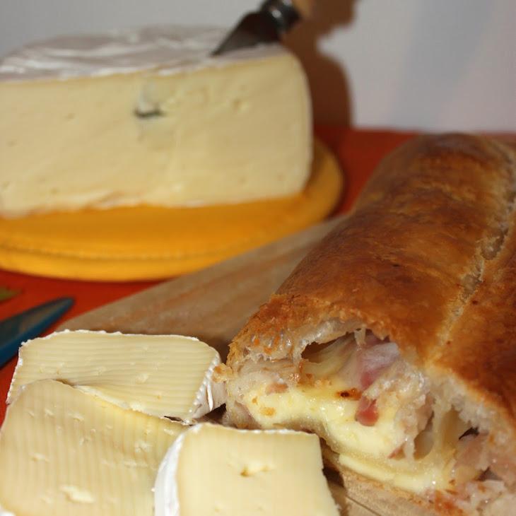 Cheese and Bacon Strudel Recipe