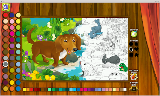 Nestor Fairy Tale Coloring- screenshot thumbnail