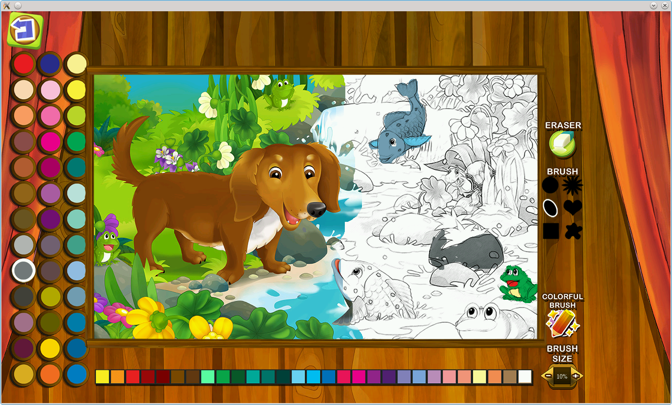 Nestor Fairy Tale Coloring- screenshot