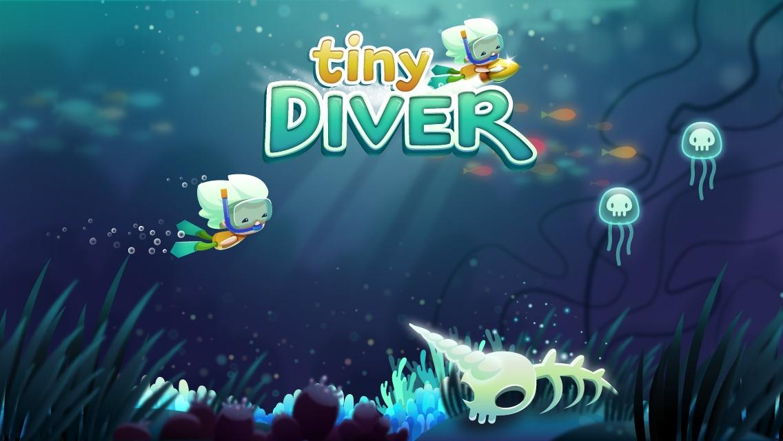 Tiny Diver- screenshot