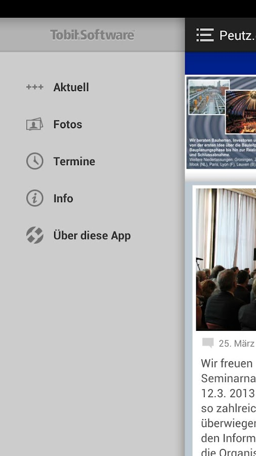 Peutz Consult Gmbh - screenshot