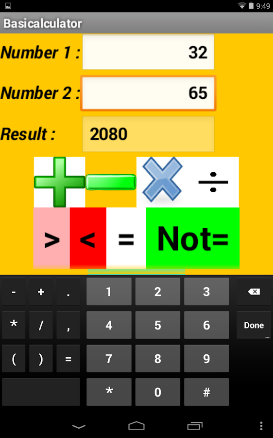 Kids Calculator - screenshot