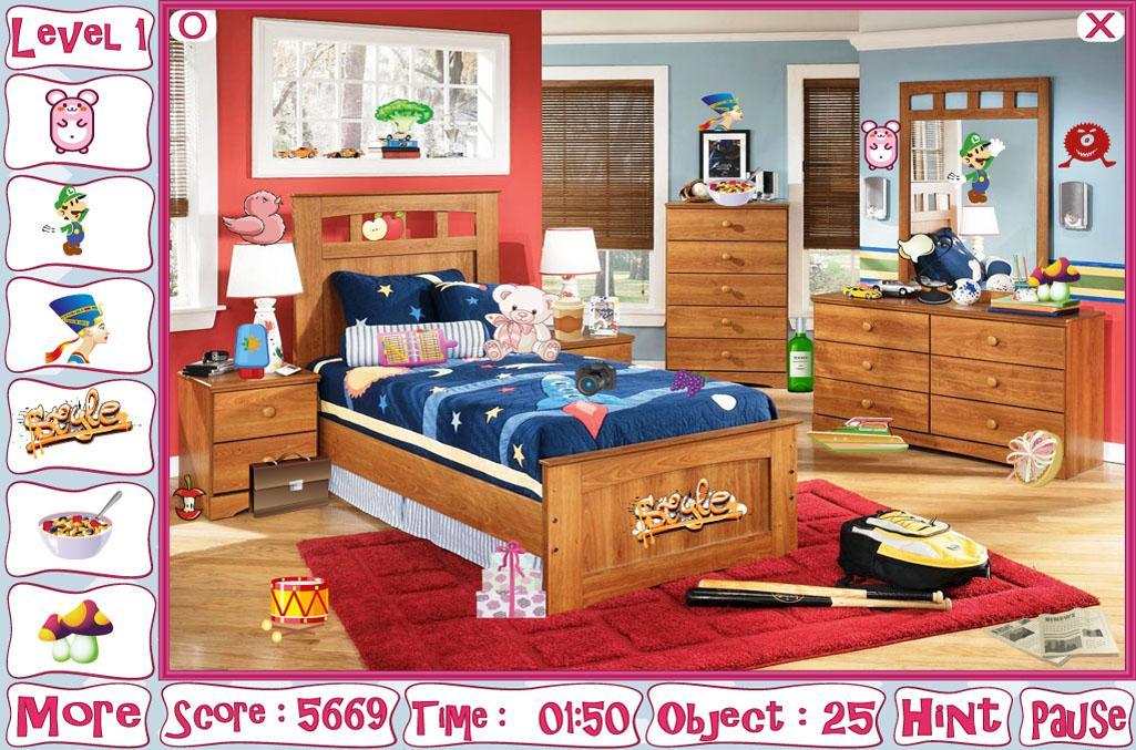 Kids Bedroom Hidden Object plain kids bedroom hidden object intended decor