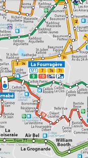 Marseille Public Transport Pro - náhled