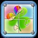 go launcher theme – Puzzle logo