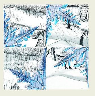 Vermont Snowflake
