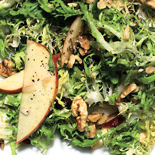 FriséE and Apple Salad with Dried Cherries and Walnuts Recipe