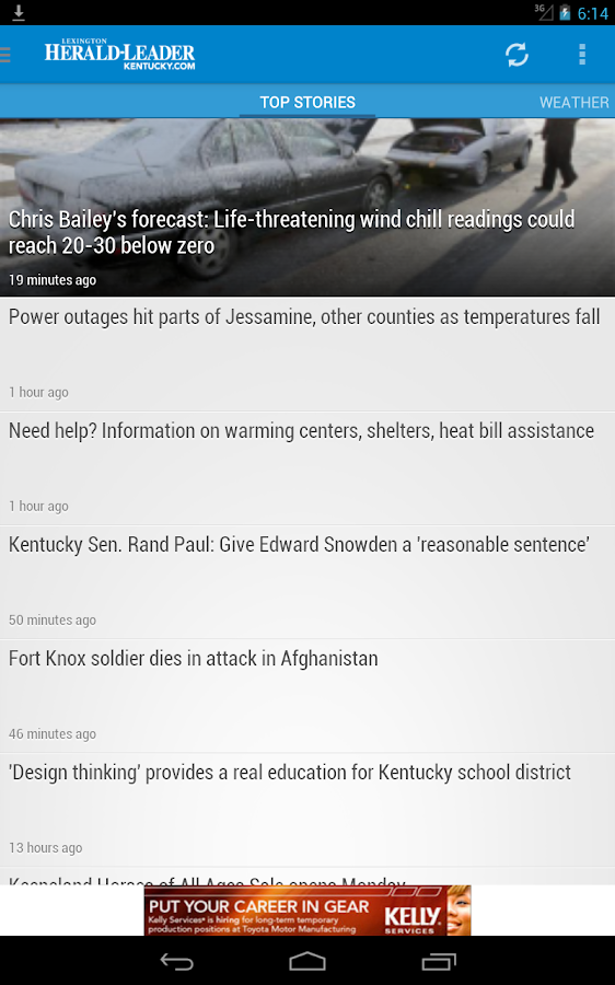 Herald-Leader - Lexington KY - screenshot
