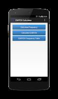 Screenshot of EARFCN Calculator