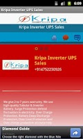 Screenshot of Kripa Inverter UPS Sales