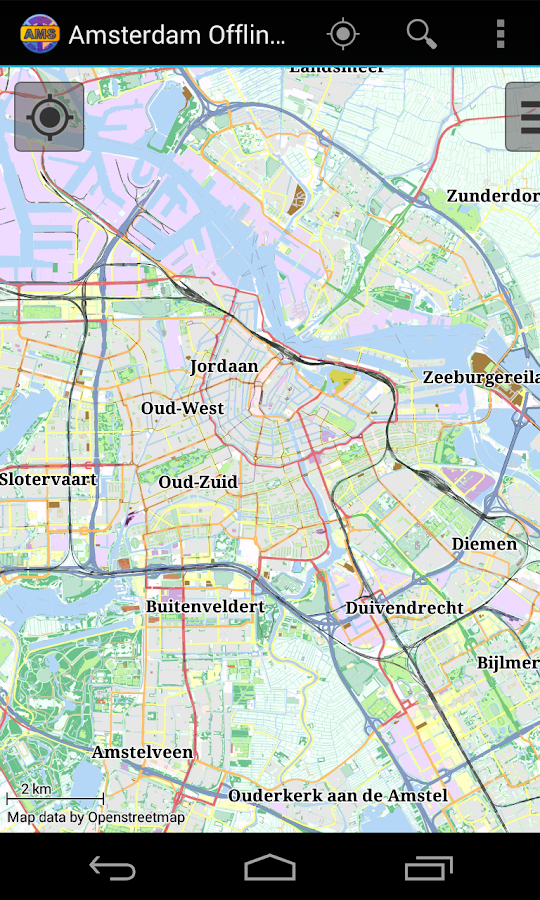 Amsterdam Offline City Map Android Apps on Google Play – Amsterdam Travel Map
