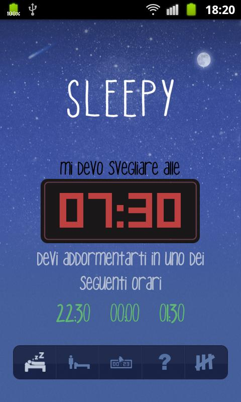 Sleepy- screenshot