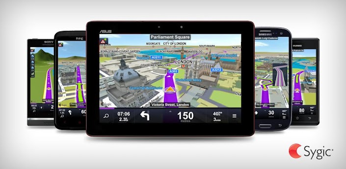 Sygic v.13.1.0 - навигатор для андроид без интернета