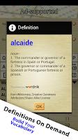 Screenshot of Word Breaker (Scrabble Cheat)