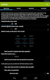 Mobile Counter | Data usage | Internet traffic 19