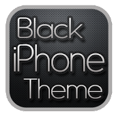 Black iPhone Theme for CM7