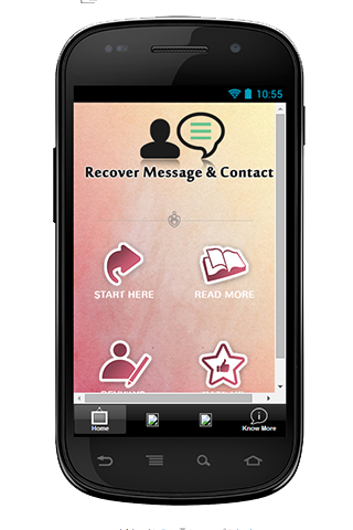 Recover Lost Message Contact