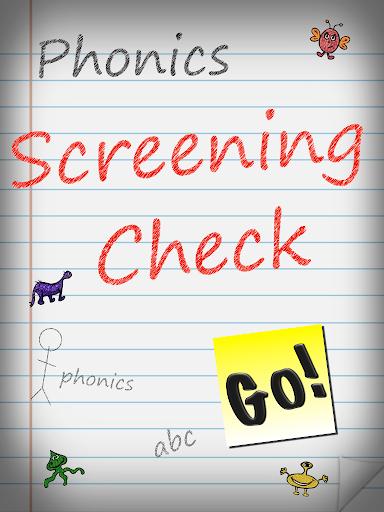 Phonics Screening Check UK