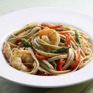 Shrimp & Pesto Pasta