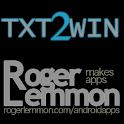 Txt2Win Free logo